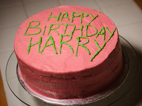Harry Potter Birthday Cake Recipe | My Harry Potter Kitchen (Recipe #16)