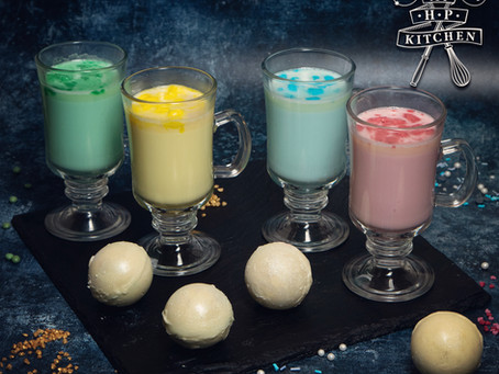Hogwarts White Hot Chocolate Bomb Recipe | My Harry Potter Kitchen III (Recipe 14)