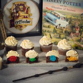 Hogwarts House Chocolate Cupcake Recipe | My Harry Potter Kitchen II (Recipe 49)