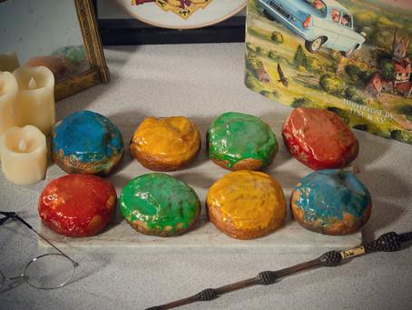 Harry Potter Hogwarts Doughnut Recipe | My Harry Potter Kitchen II (Recipe 54)