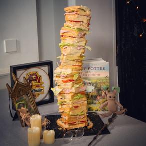 100 Layer Chicken & Ham Sandwich Recipe | My Harry Potter Kitchen II (Recipe 26)