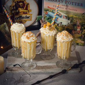 Harry Potter Butterbeer Milkshake Recipe | My Harry Potter Kitchen II (Recipe 28)