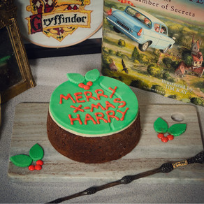 Harry Potter Christmas Cake Recipe | My Harry Potter Kitchen II (Recipe 52)