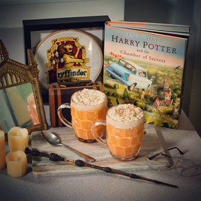 Homemade Butterbeer Porridge Recipe | My Harry Potter Kitchen II (Recipe #14)