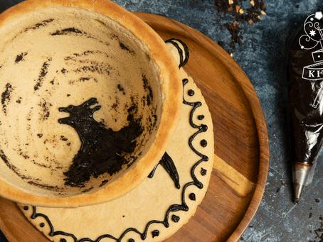 Edible The Grim Teacup | Earl Grey Biscuit Recipe | My Harry Potter Kitchen III (Recipe 4)