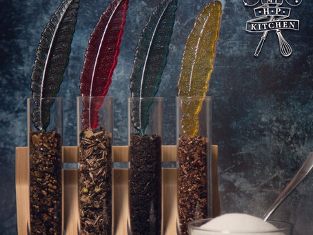 Honeydukes Sugar Quills Recipe   My Harry Potter Kitchen III (Recipe 25)