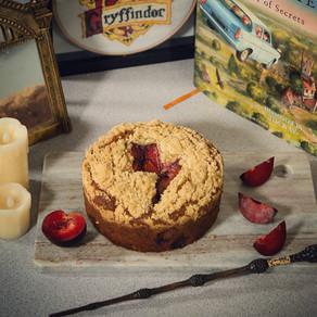 Molly Weasley's Spiced Plum Cake Recipe | My Harry Potter Kitchen II (Recipe 46)