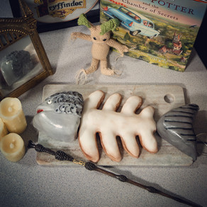 Rotten Salmon Illusion Cake Recipe | The Deathday Party | My Harry Potter Kitchen II (Recipe 37)