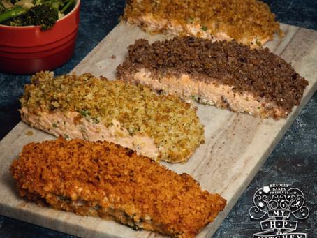 Hogwarts Crumb Topped Salmon Recipe | My Harry Potter Kitchen III (Recipe 8)