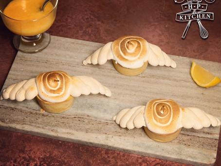 Golden Snitch Lemon Meringue Pie Recipe | My Harry Potter Kitchen III (Recipe 9)