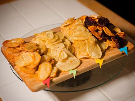 Hogwarts House Homemade Crisps Recipe | My Harry Potter Kitchen (Recipe #15)