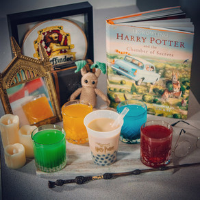 Harry Potter Homemade Bubble Tea Recipe | My Harry Potter Kitchen II (Recipe #12)