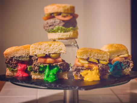 Sorting Hat Stuffed Cheese Burger Recipe | My Harry Potter Kitchen (Recipe #22)