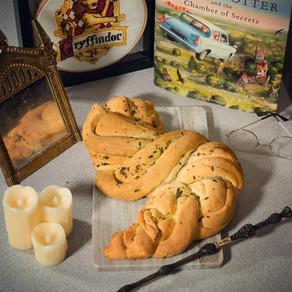 Homemade Garlic Bread Babka Recipe | My Harry Potter Kitchen II (Recipe 45)