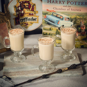 Firewhisky Eggnog Recipe | My Harry Potter Kitchen II (Recipe 47)
