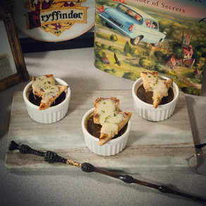 Harry Potter French Onion Soup Recipe | My Harry Potter Kitchen II (Recipe 42)