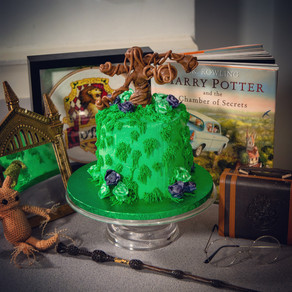 Whomping Willow Cake | Red Cabbage Chocolate Cake Recipe | My Harry Potter Kitchen II (Recipe #19)