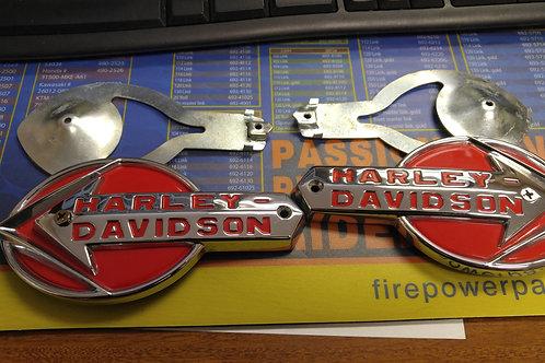 Harley Davidson Tank Emblems