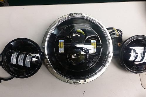 Harley Davidson LED Headlights and Spotlights