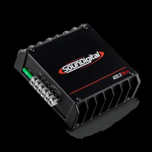 Soundigital 2ch Amplifier 200x2@4 12.6v - 4ohm