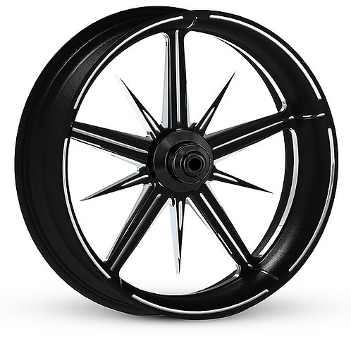 21x3.5 Assassin contrast wheel front only