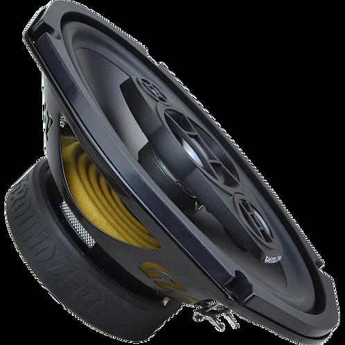 "Ground Zero 6×9"" 3-Way Coaxial Speaker System"