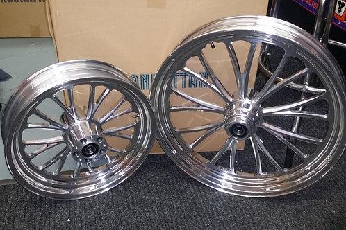 Manhattan wheel set
