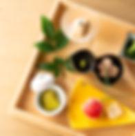 シェフこだわりの和前菜も魅力の1つ