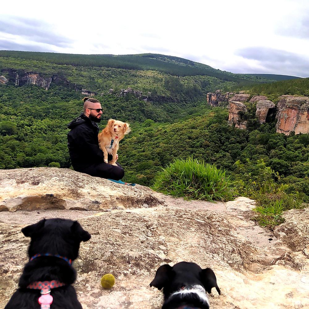 itararé, canyon, montanha, paisagem, voagem com cachorro, pets