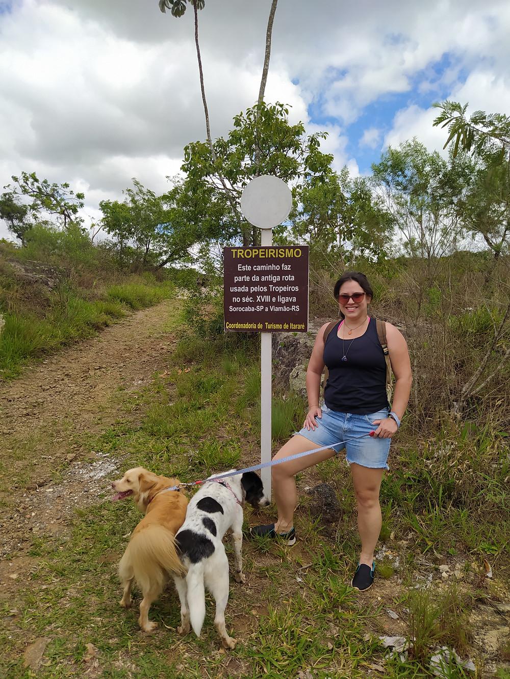 parque da barreira em itararé, pet friendly, viagem com pets
