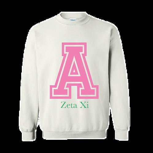 Alpha Letter Sweatshirt