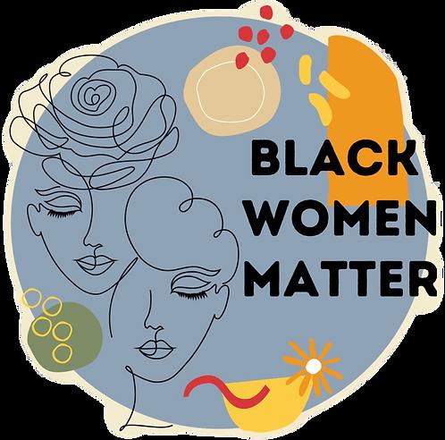 Black Women Matter Sticker