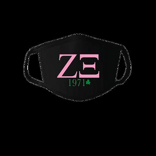 Zeta Xi Mask