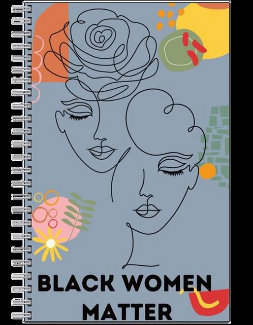 Black Women Matter Notebook