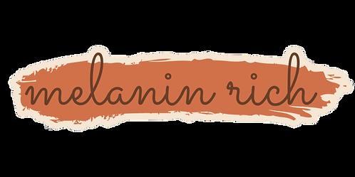 Melanin Rich sticker