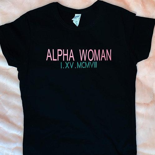 Alpha Woman Tee