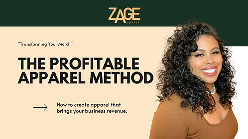 The Profitable Apparel Method