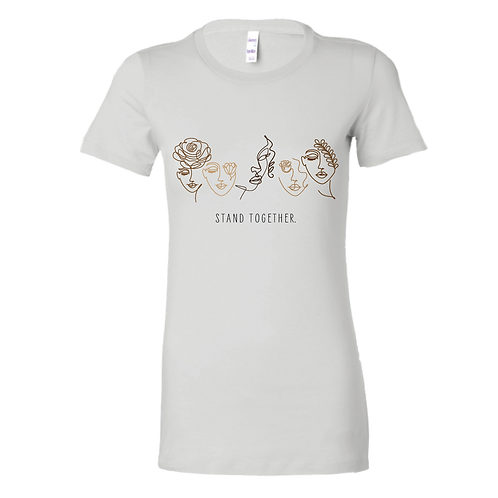 Stand Together White Tee