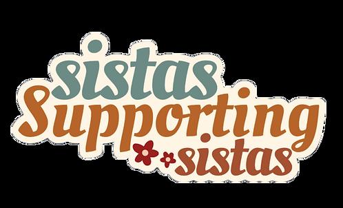 Sistas Support Sticker
