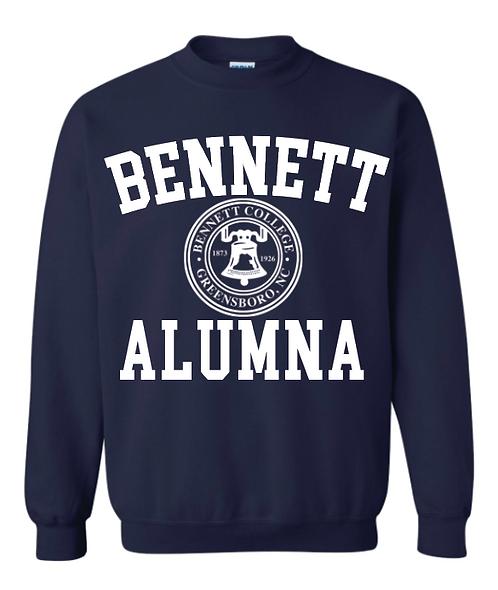 Bennett Alumna Logo Crewneck