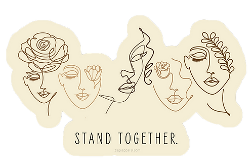 Stand Together Sticker
