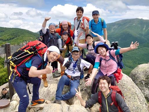 「夏!涼を求めて♪高山へ」~①瑞牆山と金峰山