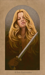 Femme au poignard © Erlé Ferronnière