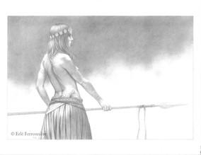 Gerrière celte © Erlé Ferronnière