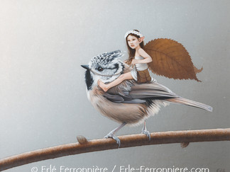 La Fée et la mésange huppée / The Fairy and the crested tit…
