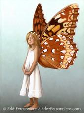 Tinker Bell, la fée Clochette © Erlé Ferronnière