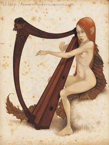 La Fée à la harpe © Erlé Ferronnière