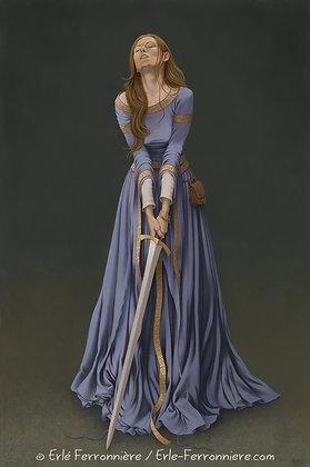 La Dame à L'épée / The Lady with a sword