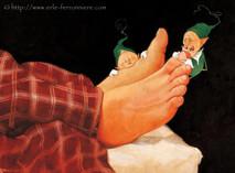 Mic & Mac - Les pieds © Erlé Ferronnière