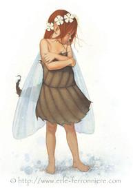 La fée boudeuse © Erlé Ferronnière
